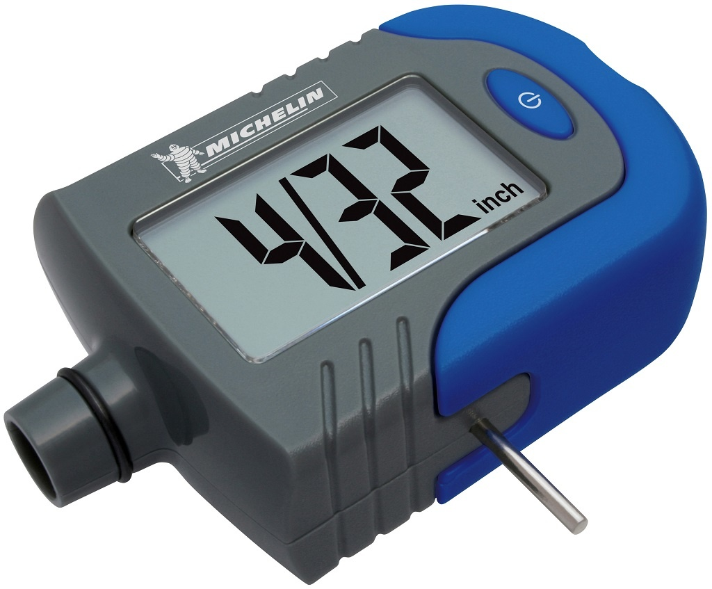 Michelin MN-4203B Digital Tire Gauge with Tread Depth Indicator